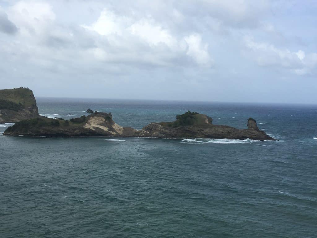 west coast of saint lucia