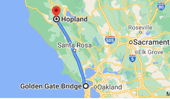 first leg of northern california road trip
