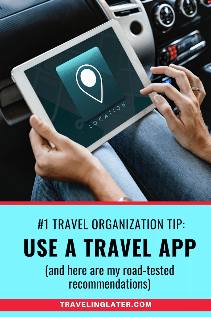 The best way to organize your trip detials