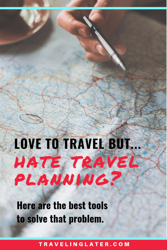 Best travel online planning tools
